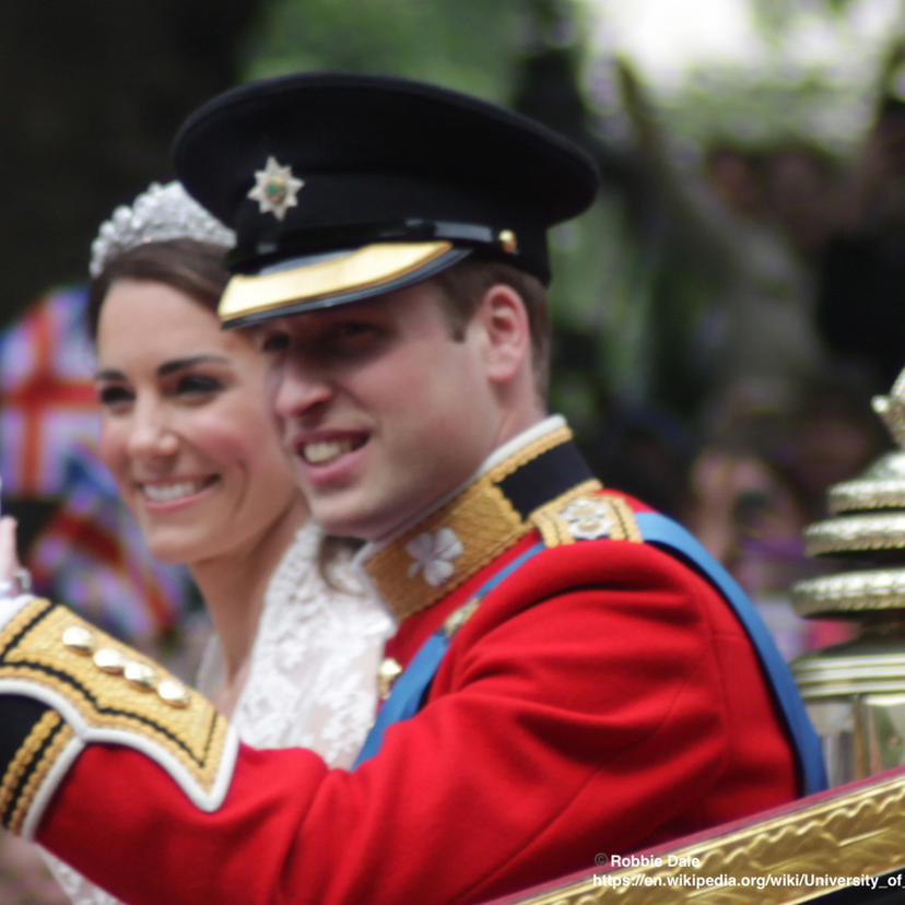 Card all smiles wedding of prince william of wales and kate middleton